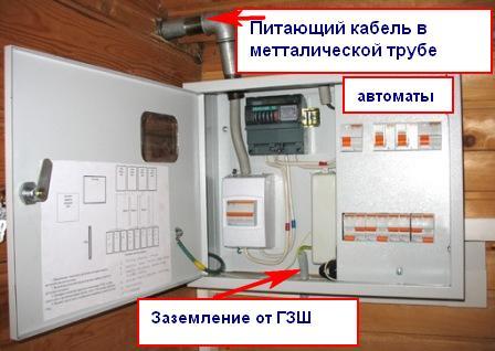 Elektrika derevjannogo doma81