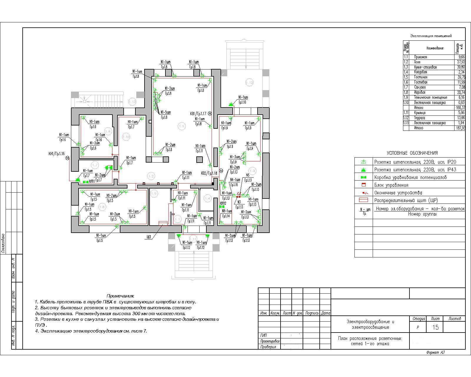 Схема электрики в частном доме фото 371