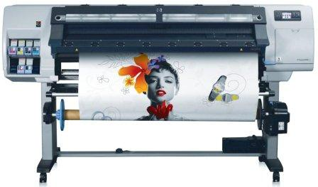 Баннер печать принтер HP