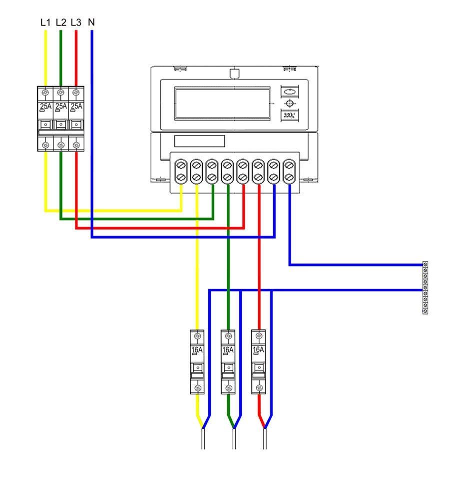 схема проводки в жилой дом канализации