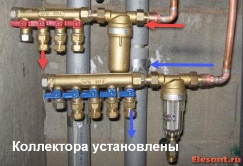Коллектор для водоснабжения своими руками 409