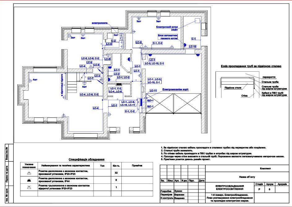 План 2х комнатной квартиры формата для автокад